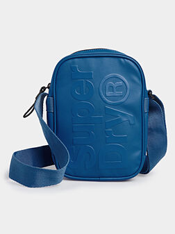 Кросбоди синя чанта - 1