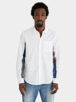 DANI White cotton shirt - 1