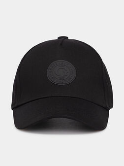 Baseball hat with logo patch - 1