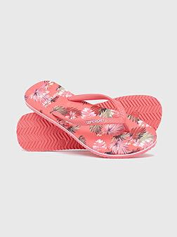 Плажни обувки с принт - 1