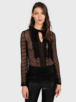 Блуза на точки LUCILLA - 1
