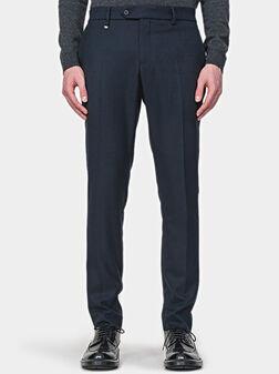 Панталон BRYAN в син цвят - 1
