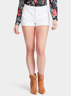 Бели къси панталони GEMMA - 1