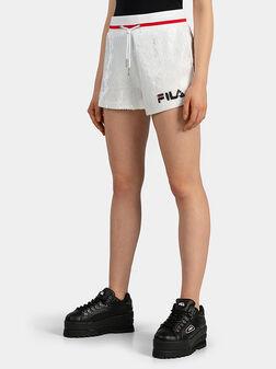 Къси панталони с пайети KIKU - 1