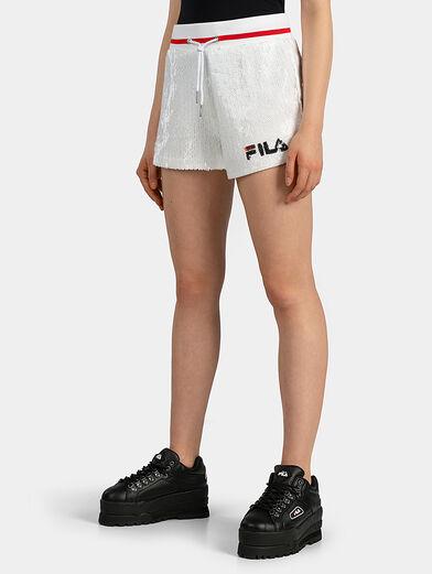 KIKU Shorts with sequins - 1
