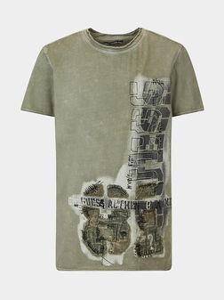 Green t-shirt - 1