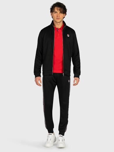 SALIH Track jacket in black - 4