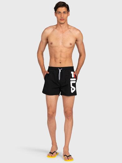 MICHI Beach shorts in black color - 4