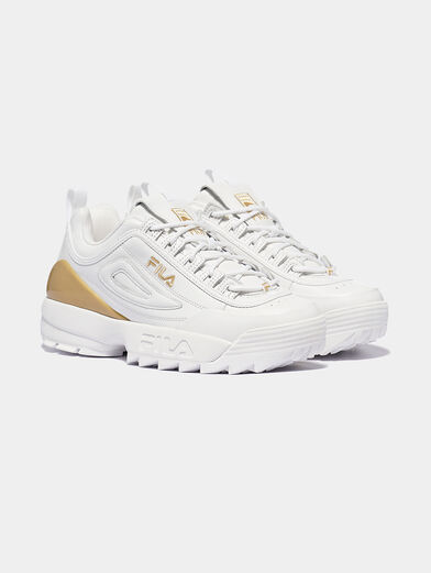 DISRUPTOR Leather sneakers with contrasting insert - 4