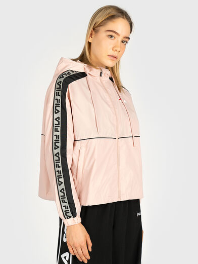 Jacket TEDRA with contrasting logo bands - 1
