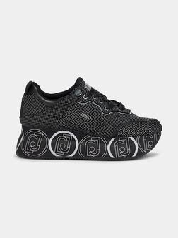 WONDER Platform sneakers with micro studs - 1