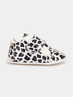 CORA shoes with animal print - 1