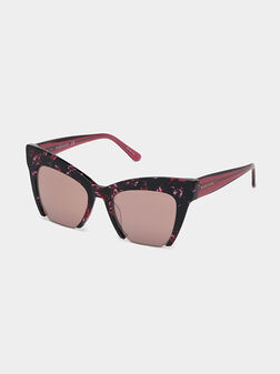 Sunglasses with floral details - 1