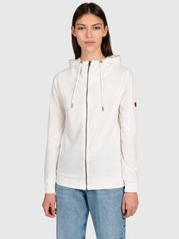 White sweathshirt - 1