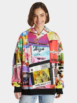 Printed sweatshirt - 1