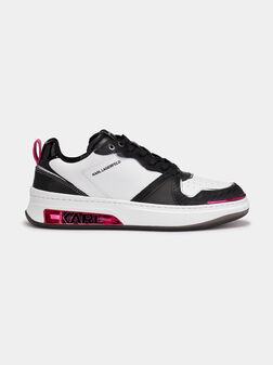 ELEKTRA Sneakers with accents in fuxia - 1