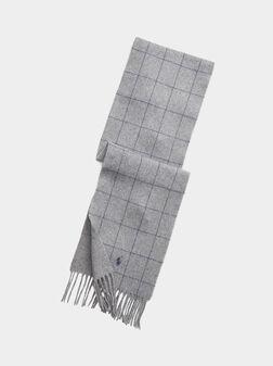 Grey scarf - 1