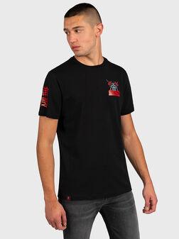 Тениска с надпис WARRIOR - 1