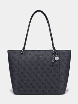 Шопър чанта NOELLE с лого принт - 1