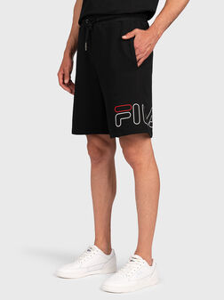 Черни къси панталони JARED - 1