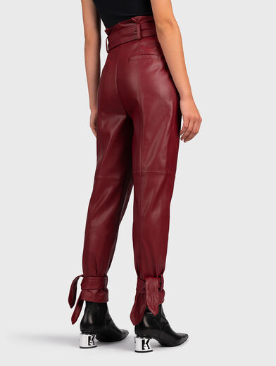 Faux leather pant - 2