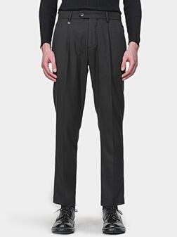 Панталон EDITH в черен цвят - 1