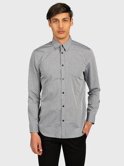 Риза SUNSET с микро принт - 1