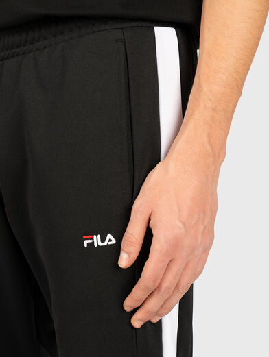 NERITAN Pants with contrasting inserts - 2