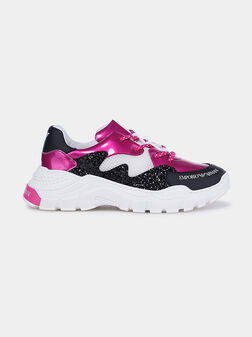Sports shoes with shiny details - 1
