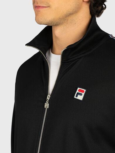 SALIH Track jacket in black - 2