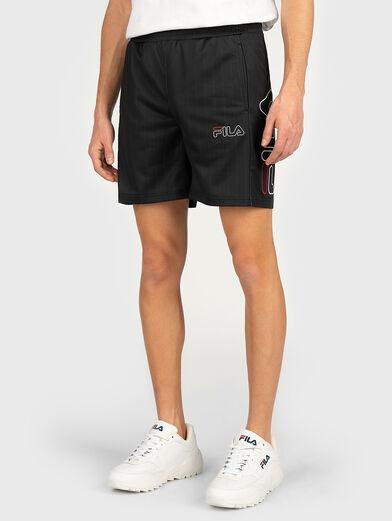 JANI Shorts with logo print - 1
