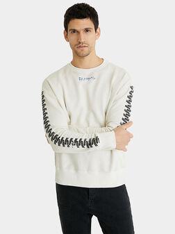 TIRES Sweatshirt with contrasting print - 1