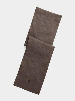 Merino wool scarf - 1