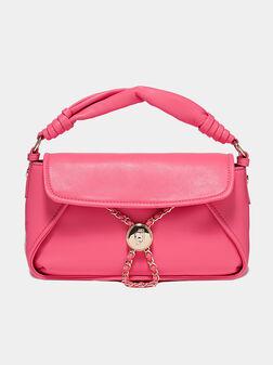 Black handbag with chain details - 1