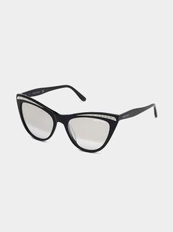 Sunglasses with rhinestones - 1