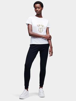 IKONIK KARL ART DECO Black T-shirt - 1