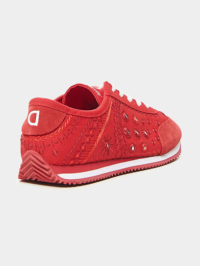 Embroidered sneakers  - 4