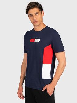Тениска с лого принт JALEN - 1