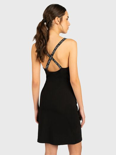 JAHEL Dress with branded straps - 3
