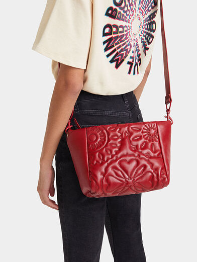 AMBER crossbody bag with quilted effect - 2