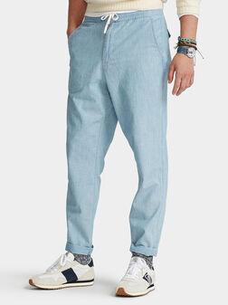 Спортен панталон с еластична талия - 1
