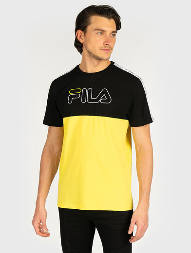 JOPI T-shirt in accentuating color - 1