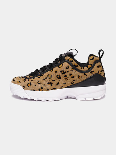 DISRUPTOR Suede sneakers with leopard print - 4