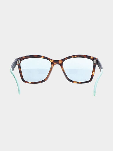 sun glasses with blue accents - 3