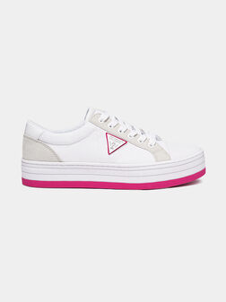 BRODEY Sneakers with pink elements - 1