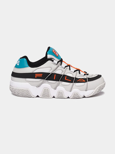 UPROOT Black runners with splashes - 1