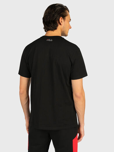 T-shirt with contrasting logo print - 2