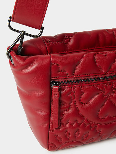AMBER crossbody bag with quilted effect - 6