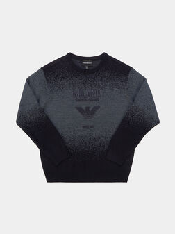 Sweater with embroidery logo - 1