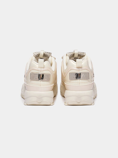 DISRUPTOR Sneakers with patent look details - 4